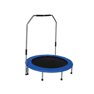 Mini trampoline with handle 001